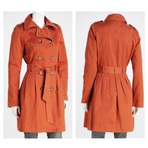 Pink Martini by Modcloth Brown Hepburn Trench Coat